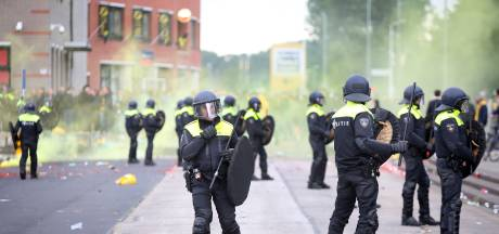 Opgepakte relschoppers NAC volgende week al voor de politierechter