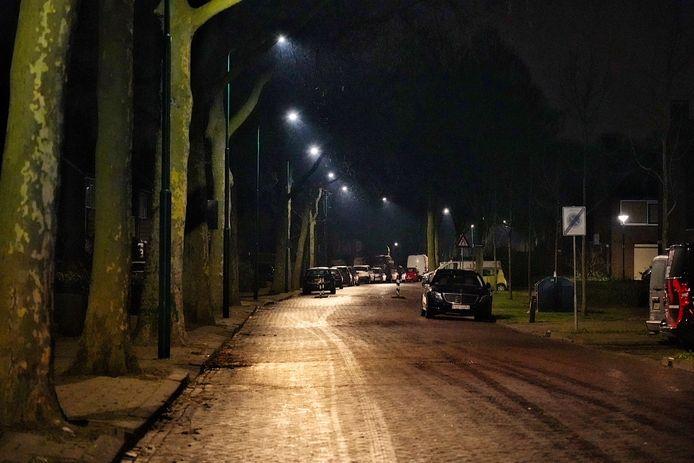 Stille straten in Rijen.