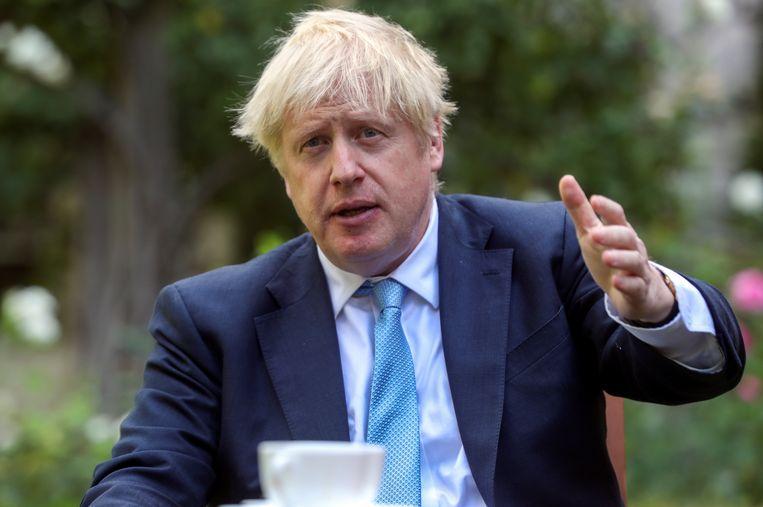 Boris Johnson ziet nieuwe verkiezingen met vertrouwen tegemoet.  Beeld Getty Images