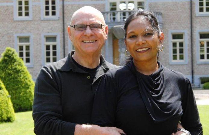 Jan Rijksdijk en zijn partner Savita.