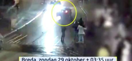 50 tips na beelden aanrijding Prinsenkade Breda; auto terecht, doorrijder nog niet