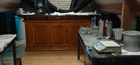 Drie verdachten aangehouden bij drugslab in Luyksgestel