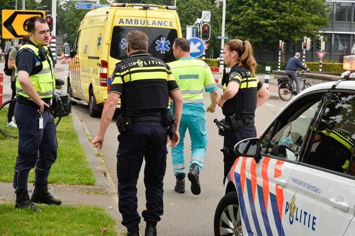Ongeluk in Breda.