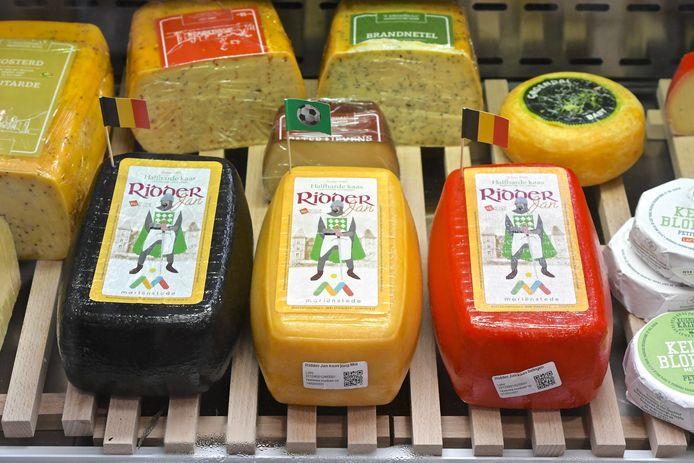 In Marienstede werden zelfs kazen in de Belgische driekleur gemaakt.