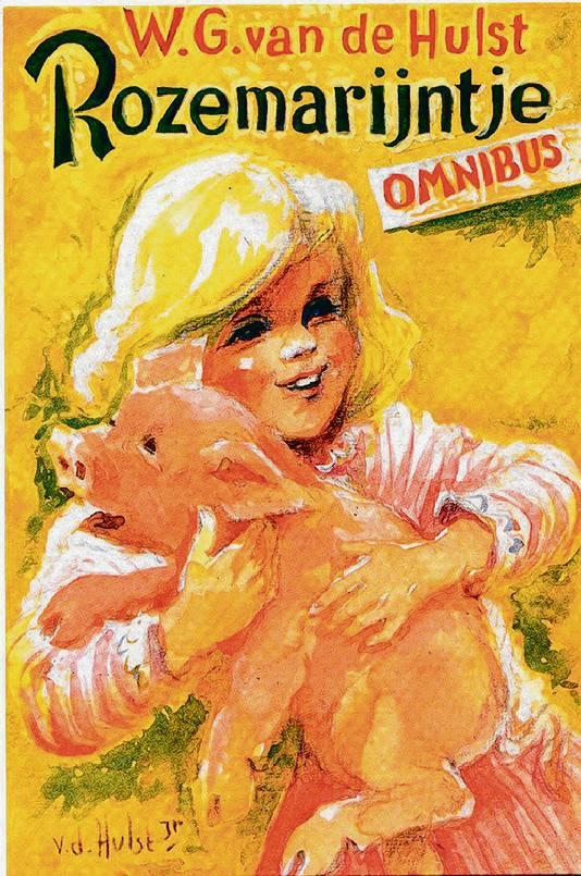 Boekomslag van het kinderboek Rozemarijntje, gemaakt door W.G. van de Hulst jr.