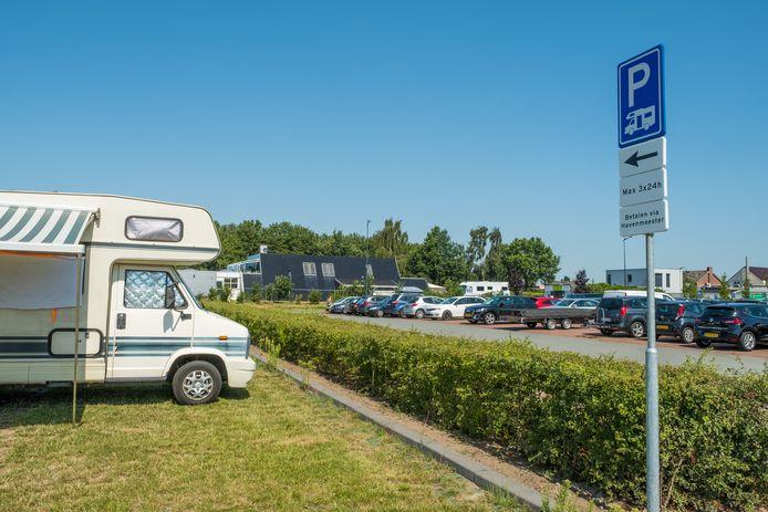 Vorig jaar juli begon de pilot op parkeerplaats De Oude Vos.