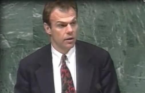 Mohammed Sacirbey was ten tijde van de oorlog in Joegoslavië minister van Buitenlandse Zaken van de Bosnische regering.