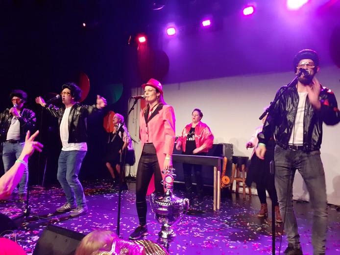 De Ploegers wonnen het Songfestival met 'Vette Kop.