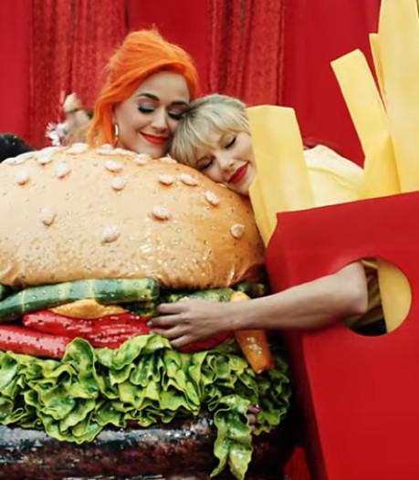 Katy Perry en Taylor Swift samen in videoclip