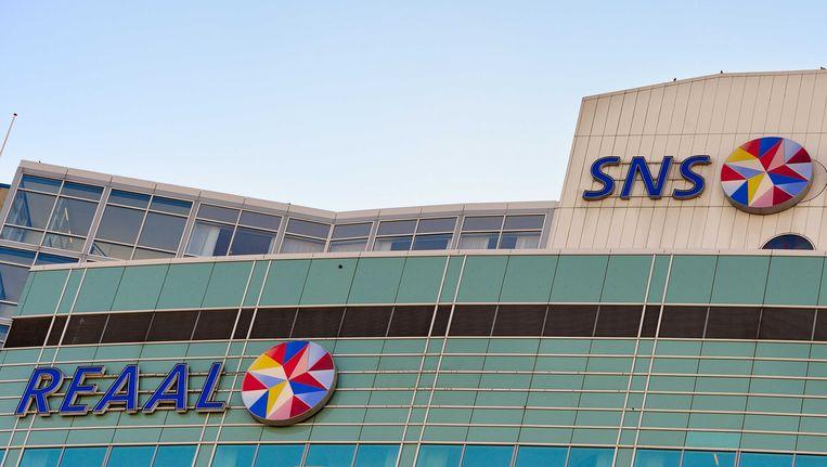 Exterieur van het hoofdkantoor van SNS Reaal in Utrecht. Beeld anp