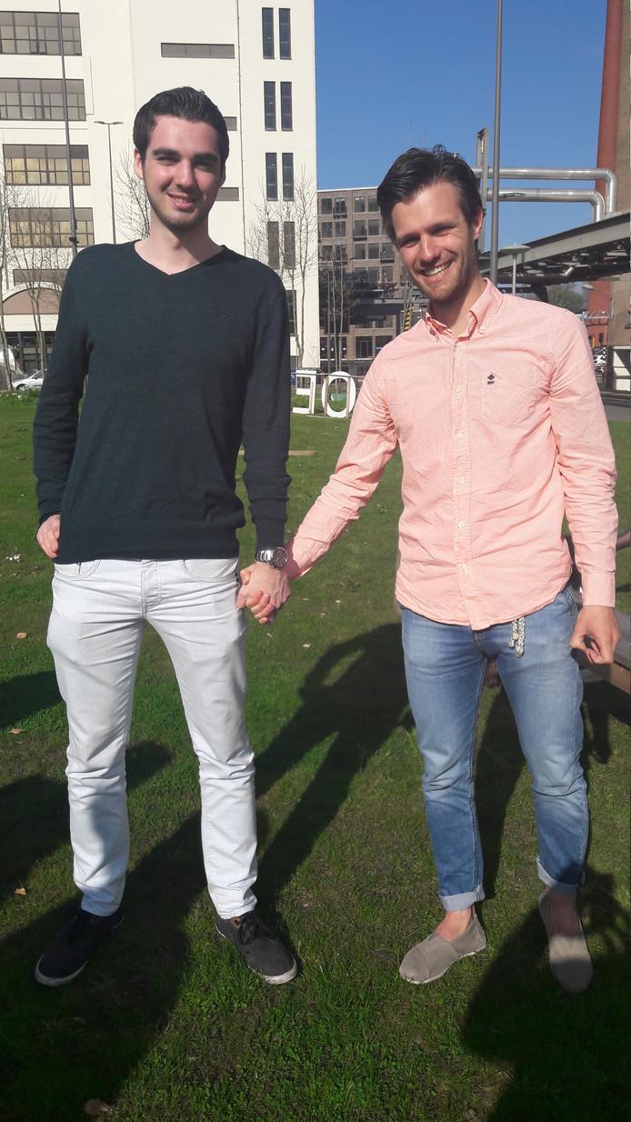 Pim Labee uit Roosendaal en Julien Govaarts uit Tilburg