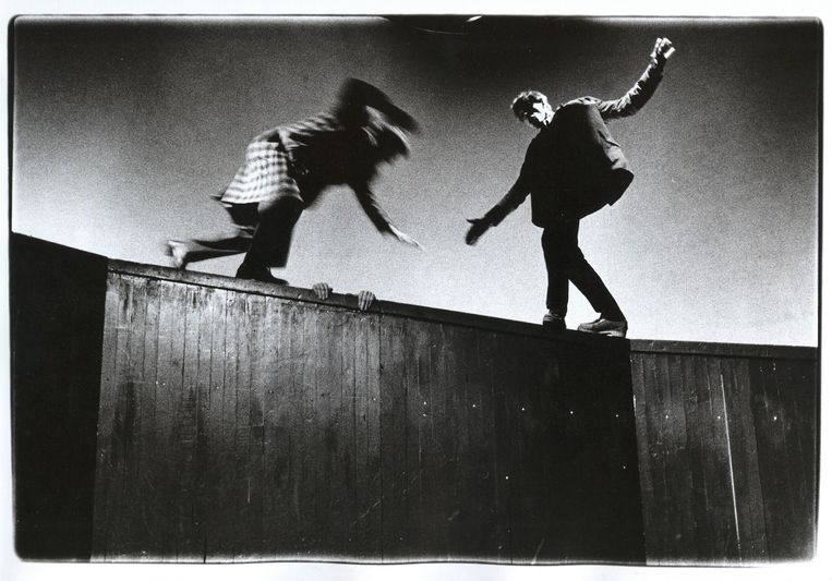Zie de mannen vallen – Hauser Orkater (1977).  Beeld Fran van der Hoeven