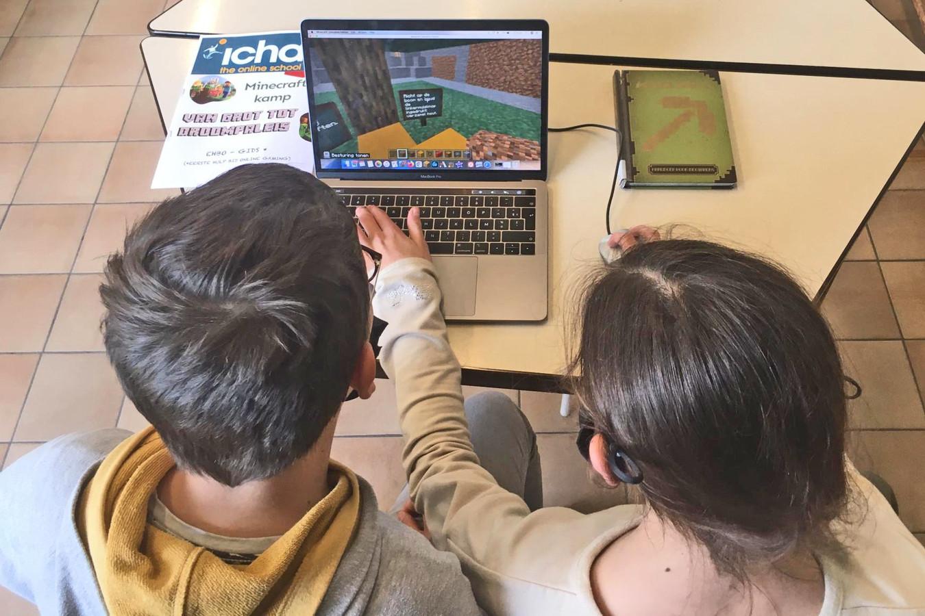 Met games gaat de leerstof er spelenderwijs in.