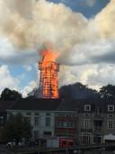 Brand Schutterstoren Wetteren