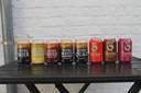 De acht nieuwe Nitro-bieren op basis van stikstof van brouwerij Vanhonsebrouck.