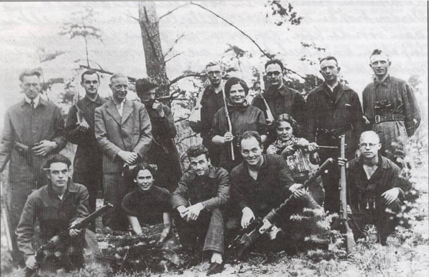 Gewapende verzetsgroep Dalfsen-Ommen-Lemelerveld.