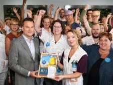 Actie in Antonius Ziekenhuis Nieuwegein nu nog ludiek: 'Opmaat voor grotere acties'