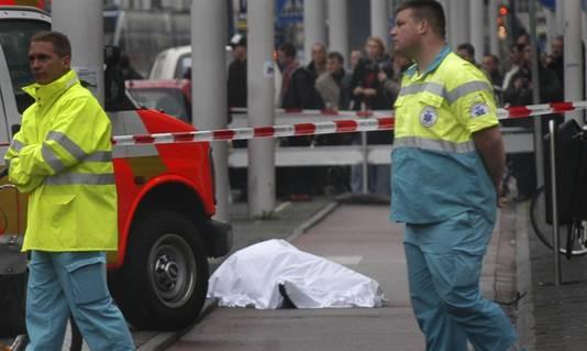 Theo van Gogh werd vermoord in 2004 in Amsterdam