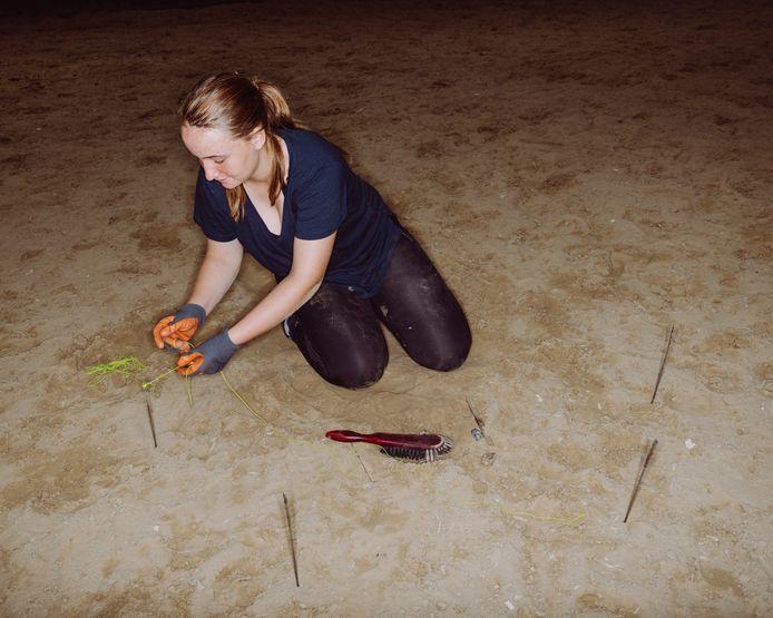 Charlotte Horemans (17) gaat archeologie doen: 'Laat mij maar even met mijn blote handen de grond afgraven.'