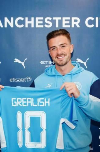 Officieel: City realiseert duurste transfer ooit in Premier League en legt 117,5 miljoen op tafel voor Jack Grealish