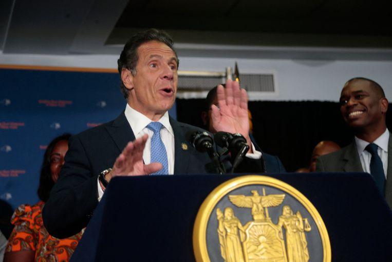 Губернатор Нью-Йорка Эндрю Куомо, который недавно ушел в отставку после обвинений в сексуальном насилии.  фото новости фото