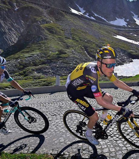 Sam Oomen kan leven met zijn dienende rol in de Vuelta: 'Wanneer je de benen hebt, komt dat toch wel aan  het daglicht'