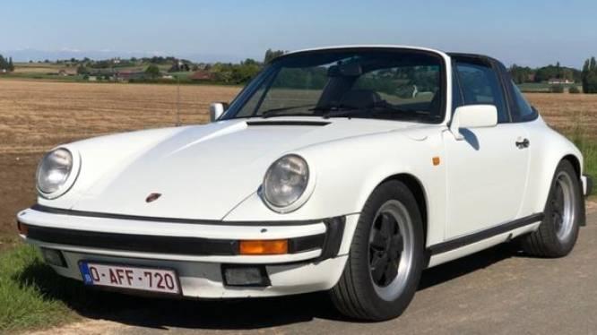 Oldtimer Porsche gestolen uit garagebox in Kortrijk