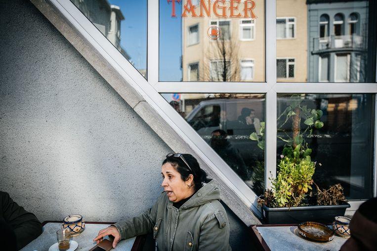 Café Tanger in Borgerhout. Beeld Wouter Van Vooren