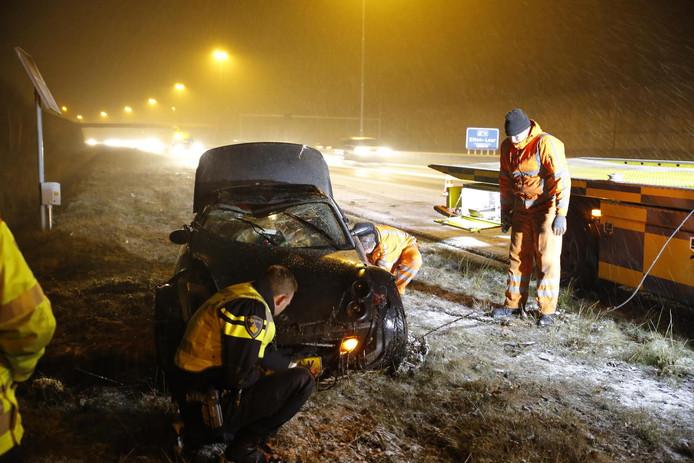 Ongeval A58 bij Etten-Leur.