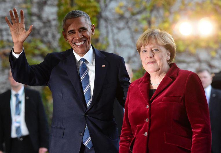 Obama: 'Ik mis het Oktoberfest nog steeds. Daar kom ik voor terug' Beeld null