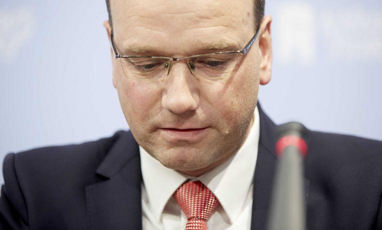 Ton Heerts (FNV) Beeld ANP