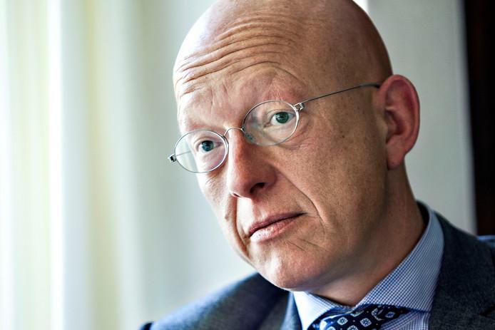 Burgemeester Maarten Houben.
