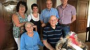 August en Francine 60 jaar gelukkig getrouwd