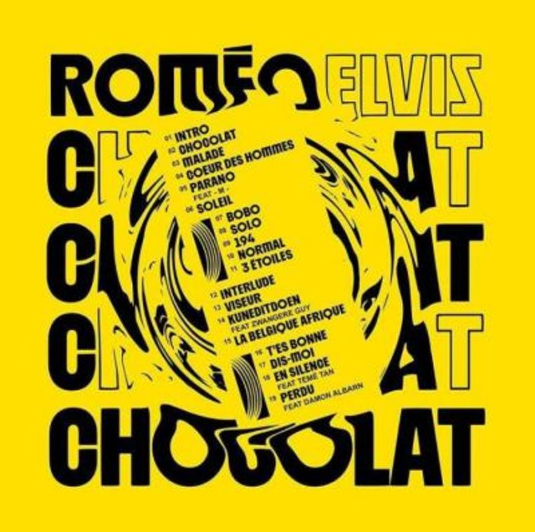 'Chocolat' van Roméo Elvis Beeld rv