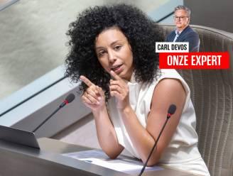 """Vijf vragen aan politicoloog Carl Devos over de affaire-El Kaouakibi: """"Haar toekomst ziet er niet goed uit"""""""