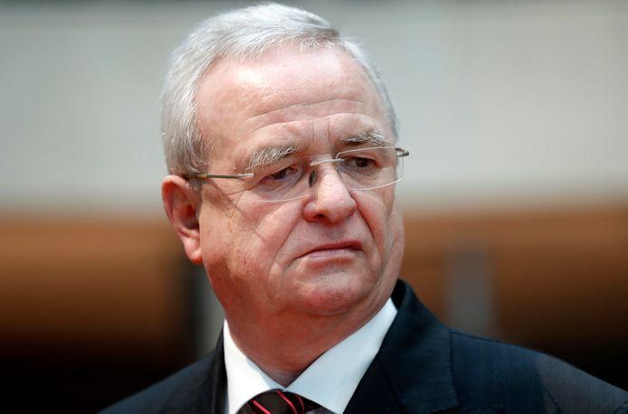 Ex-woordvoerder Volkswagen Martin Winterkorn.