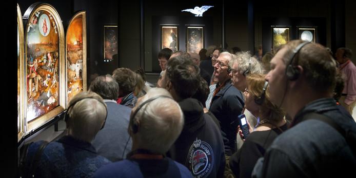 Jeroen Bosch-expositie in Den Bosch.