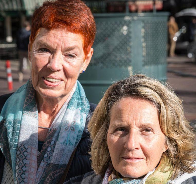 Christiane Abuhani (66, links), Maria Bocelli (63) Beeld Dingena Mol
