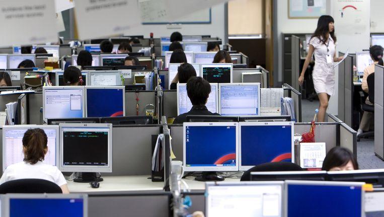 In veel Aziatische landen is het systeem al ingeburgerd. Beeld © Getty Images
