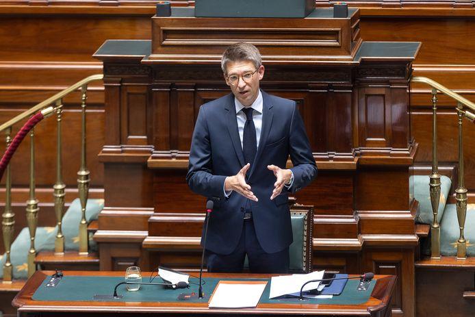 Minister van Economie Pierre-Yves Dermagne (PS).