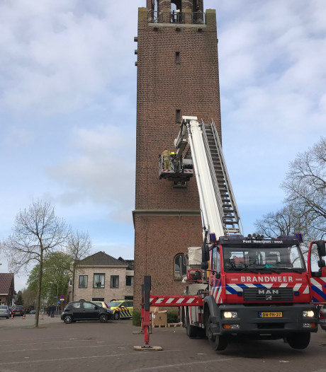 Man weer thuis na ongelukkige val in Velddrielse kerktoren