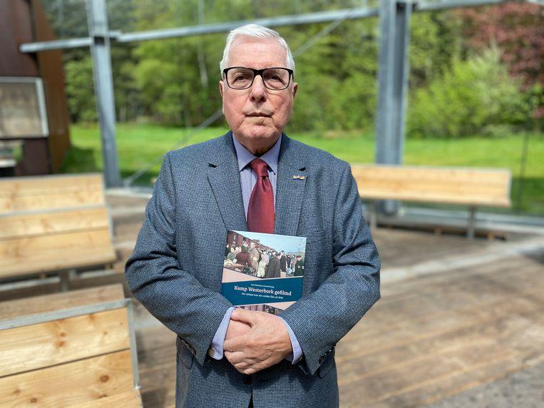 Onderzoekers ontdekten op basis van de gerestaureerde film dat de nu 80-jarige Marcus Degen te zien is op beelden van een deportatie uit Kamp Westerbork. Beeld Davine Lambert