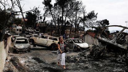 """""""Brandstichters wilden huizen plunderen"""""""