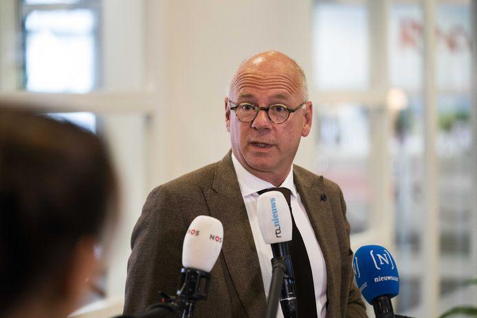 Burgemeester Carol van Eert van Rheden, tevens waarnemend voorzitter van de Veiligheidsregio Gelderland-Midden.