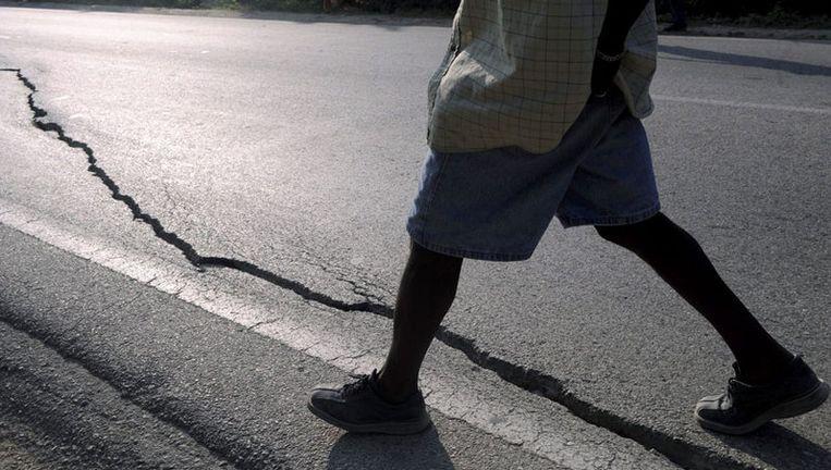 Het initiatief om 1 euro per Amsterdammer beschikbaar te stellen voor Haïti kwam van zowel alle fractievoorzitters in de gemeenteraad als het college van burgemeester en wethouders. Foto EPA Beeld