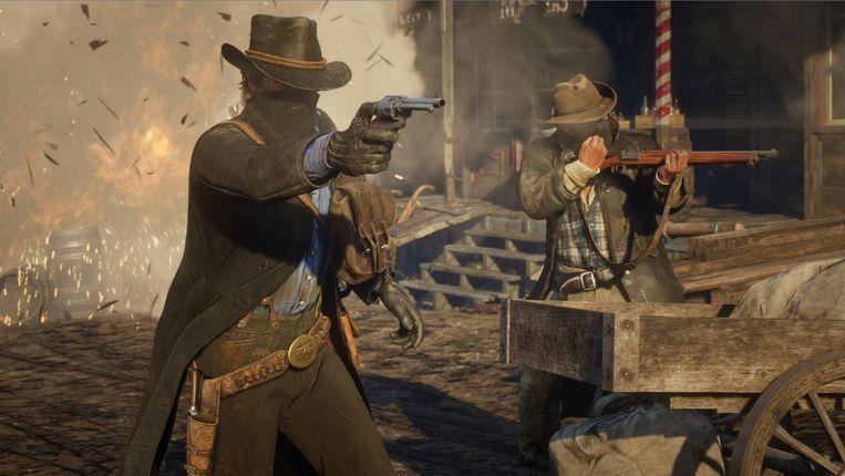 Westernepos 'Red Dead Redemption II' is met enige voorsprong de beste game van dit jaar. Maar u zult veel tijd nodig hebben om dat ten volle te ontdekken. Beeld rv