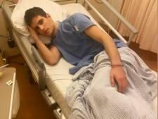 Jonge spits PEC Zwolle met klaplong in ziekenhuis
