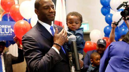 Democraat kan eerste zwarte gouverneur van Florida worden na verrassende winst