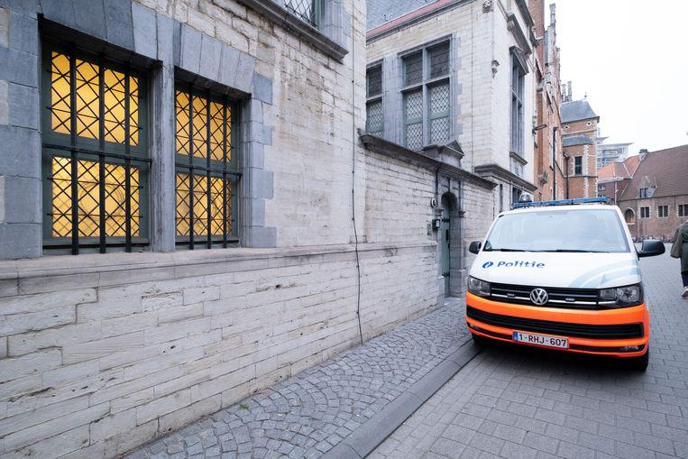 MECHELEN - De politie aan de rechtbank van Mechelen