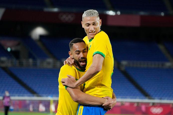 Avec son triplé, Richarlison a montré la voie du succès au Brésil.